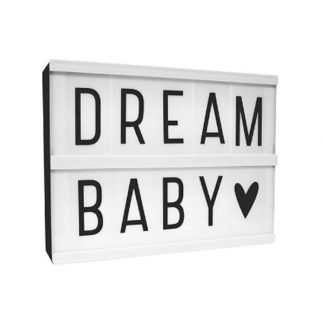 Cute A5 lightbox from Little Lovely Company